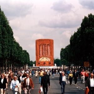 11 POSTE DE RADIO GEANT PLACE DE LA CONCORDE PARIS