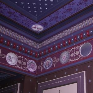 Détail de décor peinture